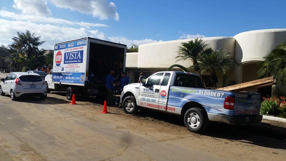 La Mesa Flood Repairs