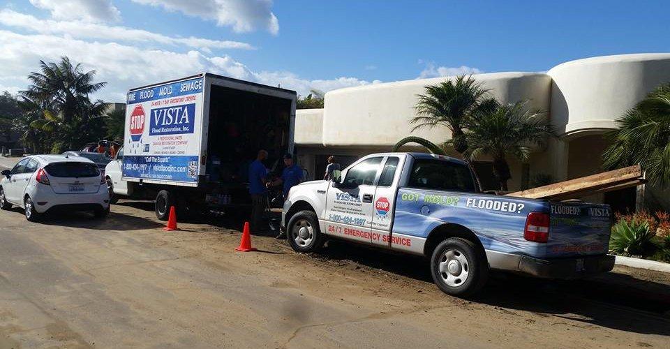 Horton Plaza Flood Repairs